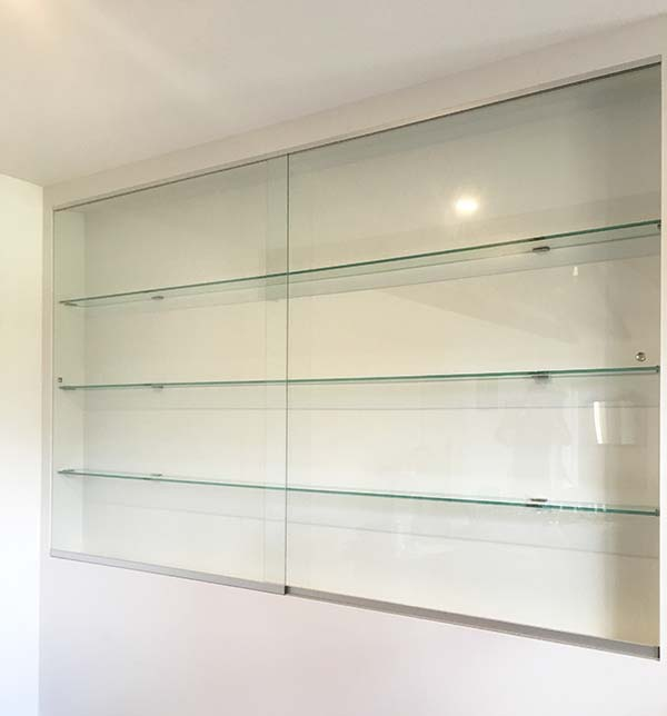 Showcase With Glass Shelving Fleurieu Glass Fleurieu Glass